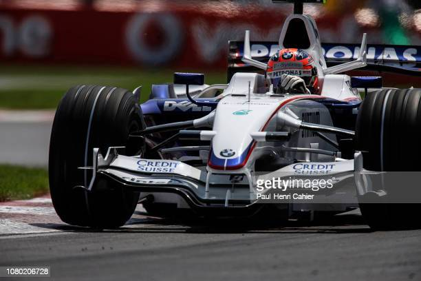 Robert Kubica BMW Sauber F1 08 Grand Prix of Canada Circuit Gilles Villeneuve 08 June 2008 Robert Kubica during qualifying for the 2008 Grand Prix of...