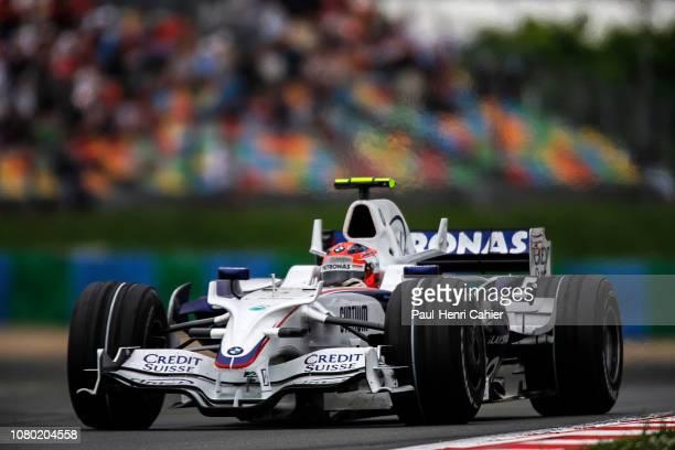 Robert Kubica, BMW Sauber F1 08, Grand Prix of France, Circuit de Nevers Magny-Cours, 22 June 2008.