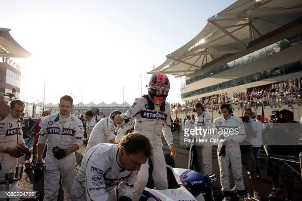 Robert Kubica, BMW Sauber F1 09, Grand Prix of Abu Dhabi, Yas Marina Circuit, 01 November 2009.