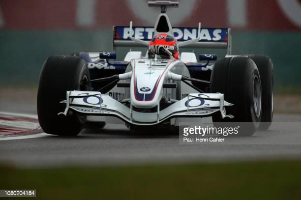 Robert Kubica BMW Sauber F106 Grand Prix of Chine Shanghai International Circuit 01 October 2006