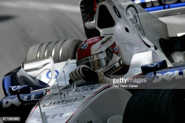 Robert Kubica BMW Sauber F106 Grand Prix of Monaco Circuit de Monaco 28 May 2006 Robert Kubica going through Mirabeau corner during practice for the...
