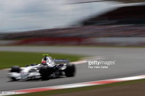 Robert Kubica BMW Sauber F107 Grand Prix of Great Britain Silverstone Circuit 08 July 2007