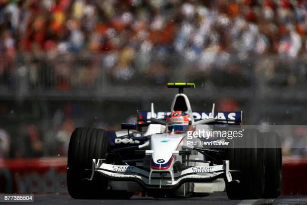 Robert Kubica BMW Sauber F108 Grand Prix of Canada Circuit Gilles Villeneuve 08 June 2008