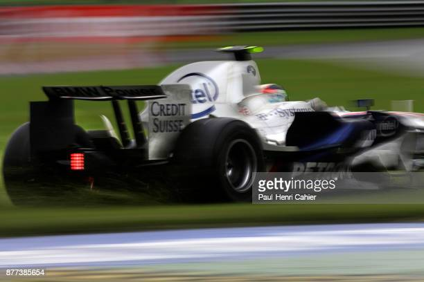 Robert Kubica BMW Sauber F108 Grand Prix of Italy Autodromo Nazionale Monza 14 September 2008 Robert Kubica off track in the grass during the 2008...