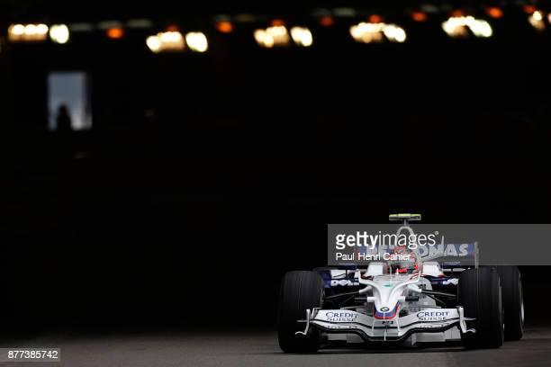 Robert Kubica BMW Sauber F108 Grand Prix of Monaco Circuit de Monaco 25 May 2008