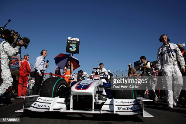 Robert Kubica BMW Sauber F109 Grand Prix of Australia Albert Park Melbourne Grand Prix Circuit 29 March 2009 Robert Kubica on the starting grid of...