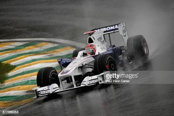 Robert Kubica BMW Sauber F109 Grand Prix of Brazil Autodromo Jose Carlos Pace Interlagos Sao Paolo 18 October 2009