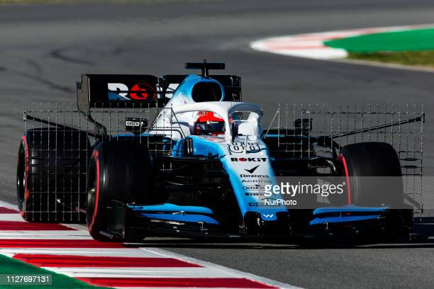Robert Kubica from Poland with 88 Williams Racing in action during the Formula 1 2019 PreSeason Tests at Circuit de Barcelona Catalunya in Montmelo...