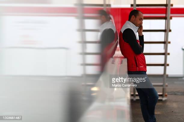 Robert Kubica of Alfa Romeo Racing during day five of F1 Winter Testing.
