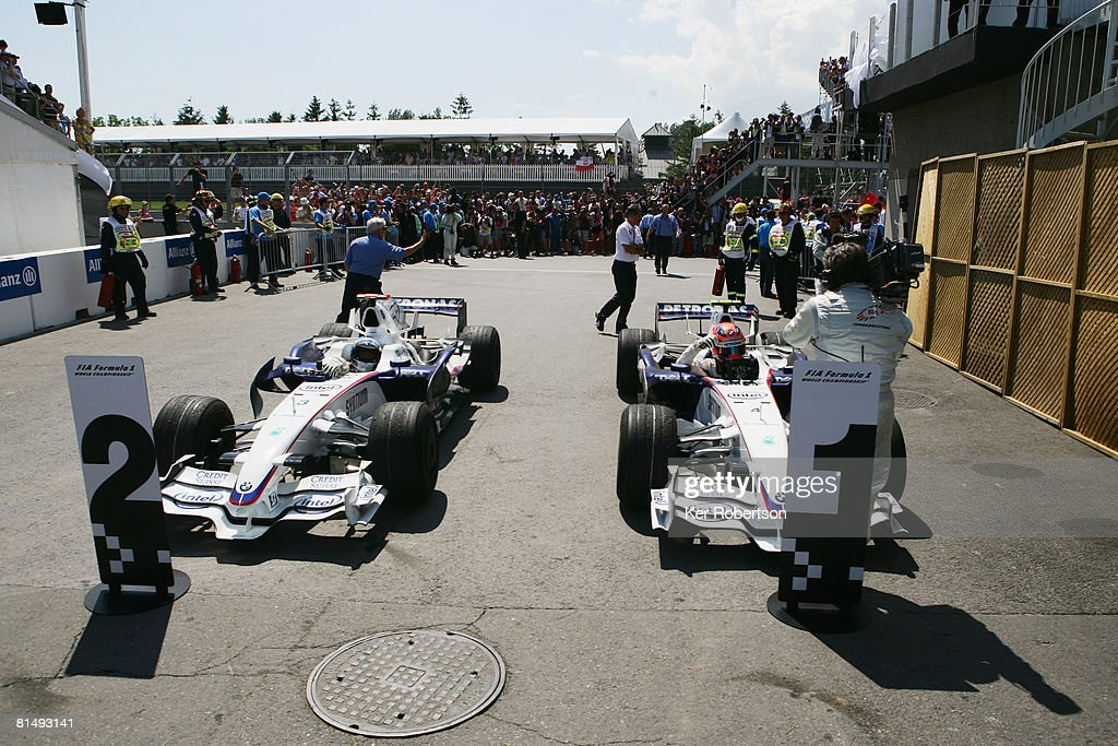 Canadian Formula One Grand Prix: Race : News Photo