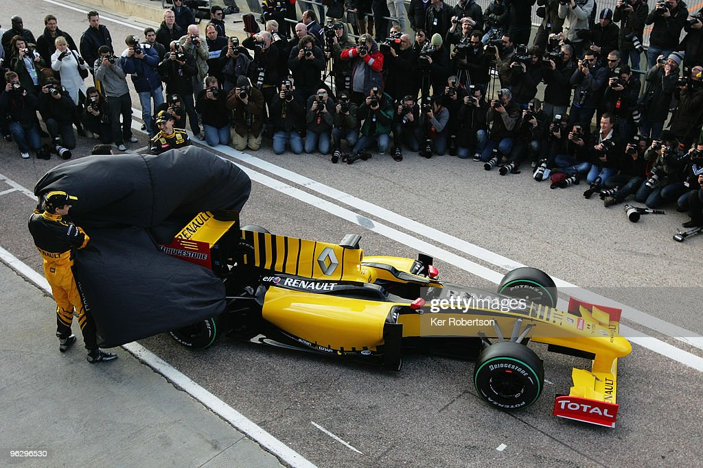 Renault F1 Launch