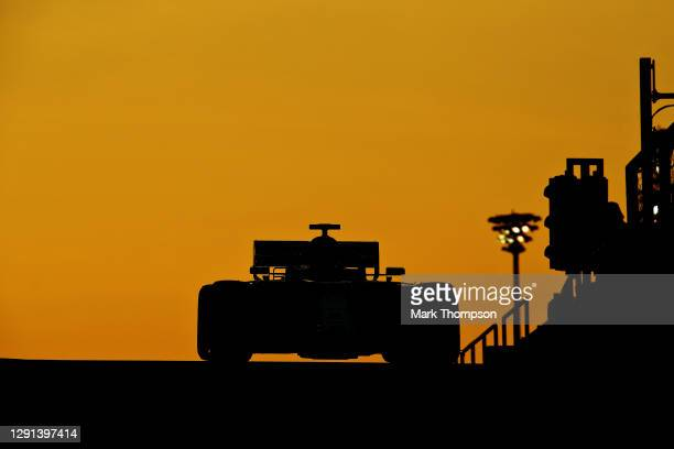 Robert Kubica of Poland driving the Alfa Romeo Racing C39 Ferrari during the F1 Young Drivers Test at Yas Marina Circuit on December 15, 2020 in Abu...