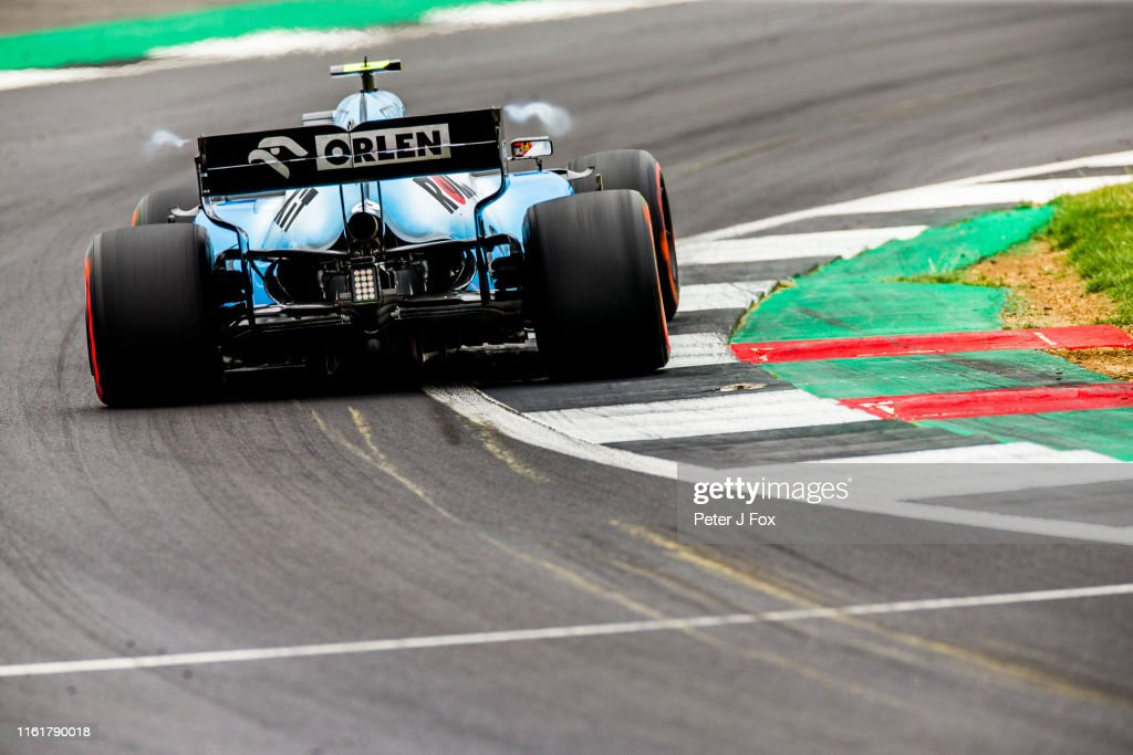 F1 Grand Prix of Great Britain - Final Practice : News Photo