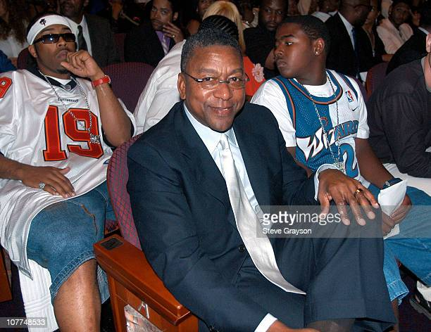 Robert L. Johnson, BET Founder,CEO during The 3rd Annual BET Awards - Backstage and Audience at The Kodak Theater in Hollywood, California, United...