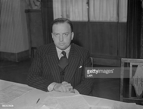 Robert Lacoste , French politician, before 1939.