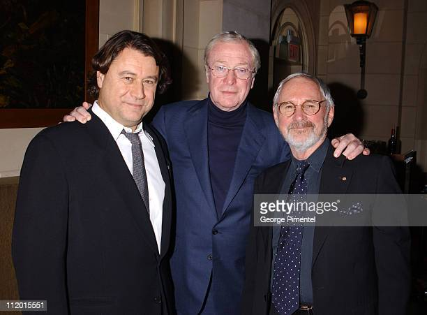 Robert Lantos , Michael Caine and Norman Jewison