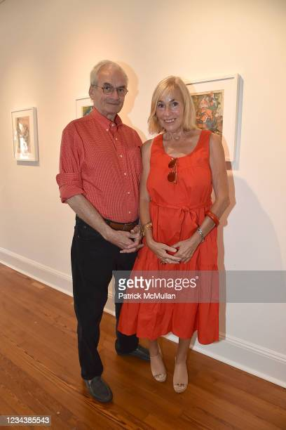 """Robert Leacock and Robin Baker Leacock attend the release of Christophe von Hohenberg's new book """"The White Album of The Hamptons"""" and Bruce..."""