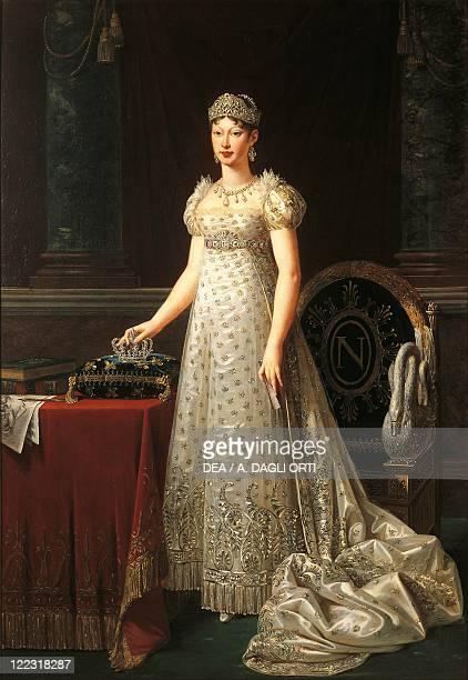 Robert Lefevre Portrait of Marie Louise of Austria Duchess of Parma Piacenza and Guastalla