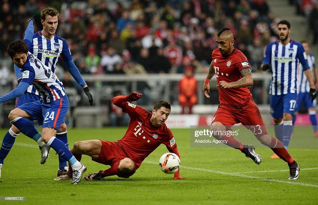 Bayern Munich vs Hertha BSC Berlin : News Photo