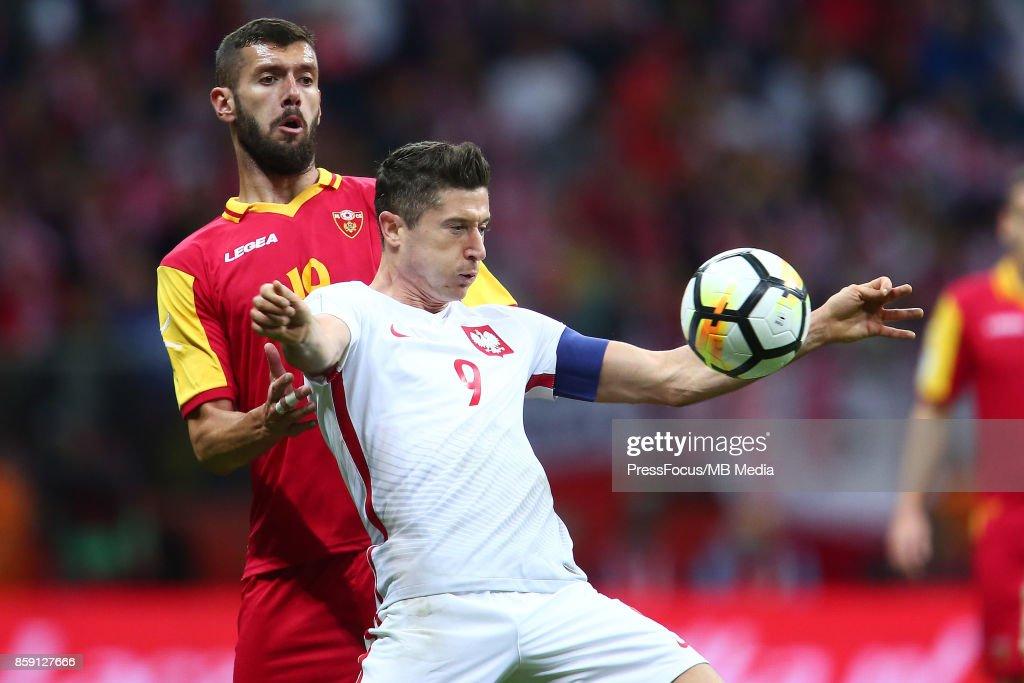 Poland v Montenegro - FIFA 2018 World Cup Qualifier : News Photo