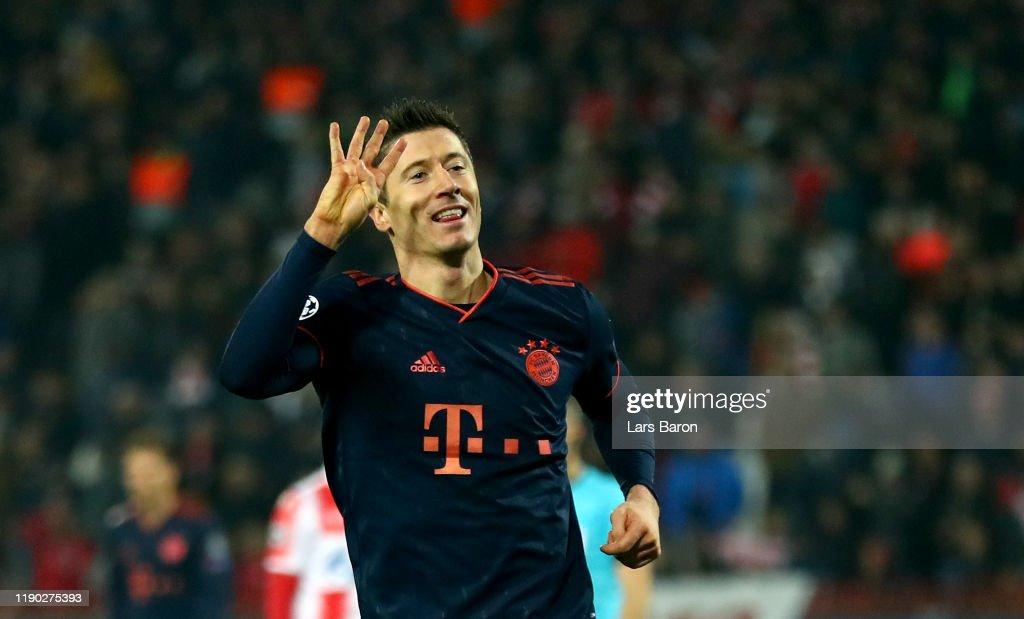 Crvena Zvezda v Bayern Muenchen: Group B - UEFA Champions League : News Photo