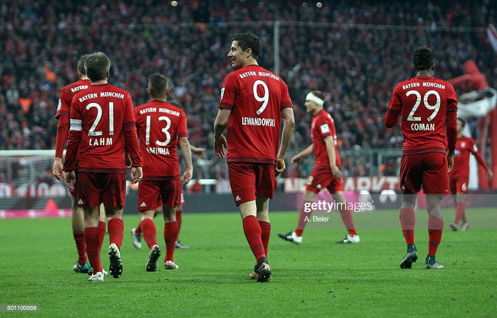 FC Bayern Muenchen v FC Ingolstadt - Bundesliga : News Photo