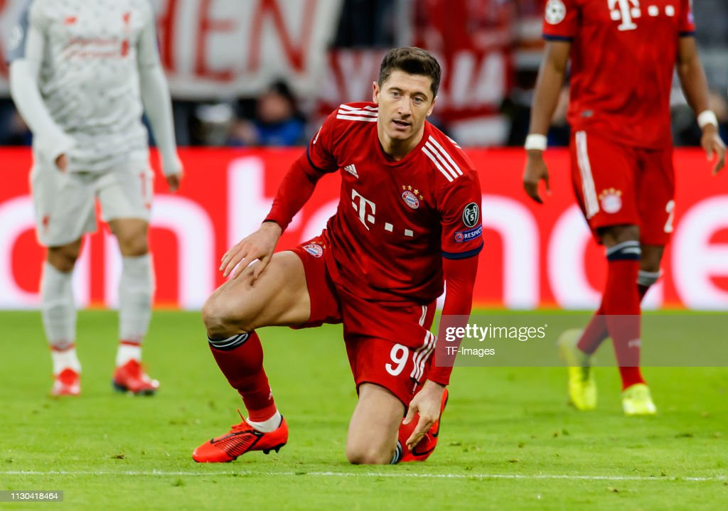 FC Bayern Muenchen v Liverpool - UEFA Champions League Round of 16: Second Leg : News Photo