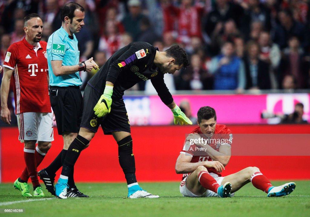 Bayern Muenchen v Borussia Dortmund - Bundesliga : Nachrichtenfoto