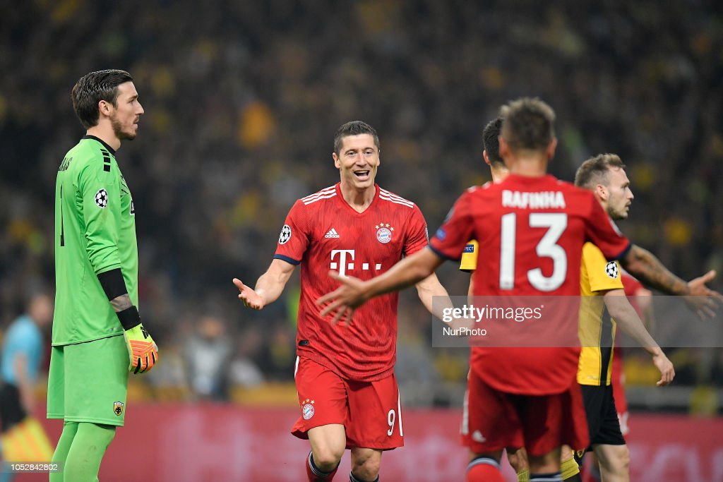 AEK Athens v FC Bayern Muenchen - UEFA Champions League Group E : News Photo
