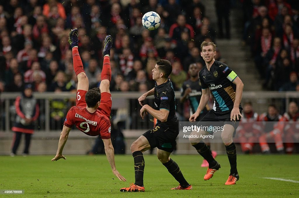 Bayern Munich vs Arsenal FC -UEFA Champions League : News Photo