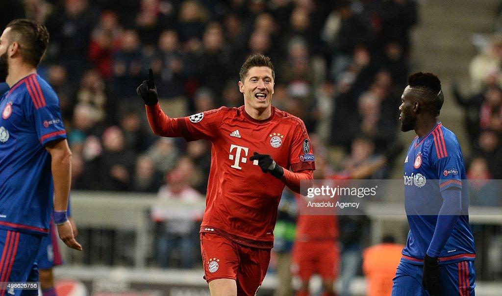 FC Bayern Munich vs Olympiacos FC - UEFA Champions League : ニュース写真