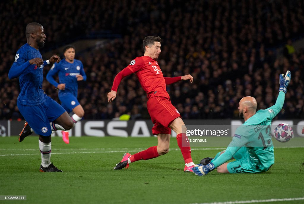 Chelsea FC v FC Bayern Muenchen - UEFA Champions League Round of 16: First Leg : ニュース写真