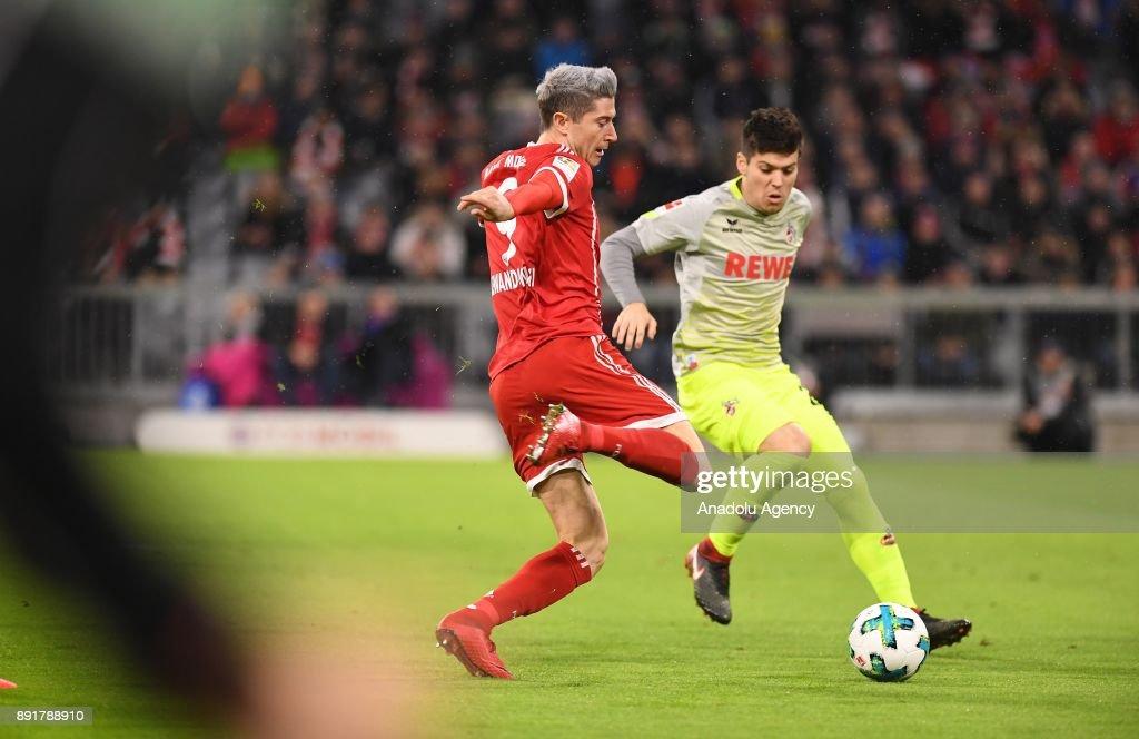 Bayern Munich vs Cologne: Bundesliga : Foto di attualità