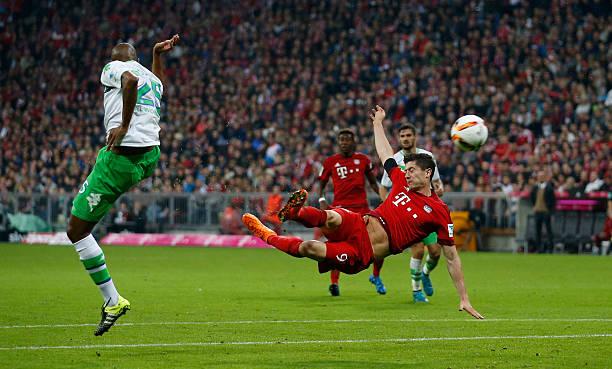 FC Bayern Muenchen v VfL Wolfsburg - Bundesliga Photos and