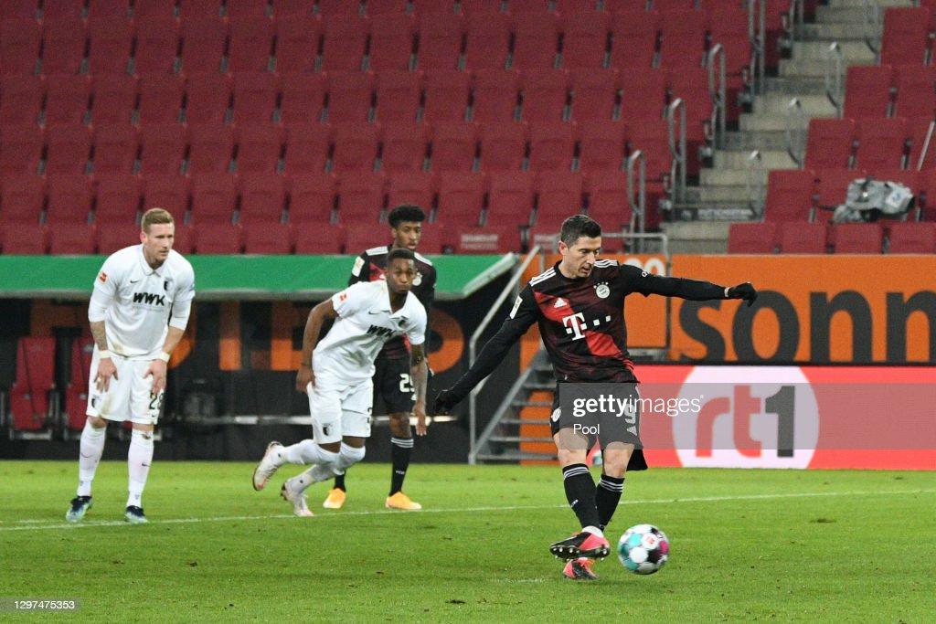 FC Augsburg v FC Bayern Muenchen - Bundesliga : News Photo