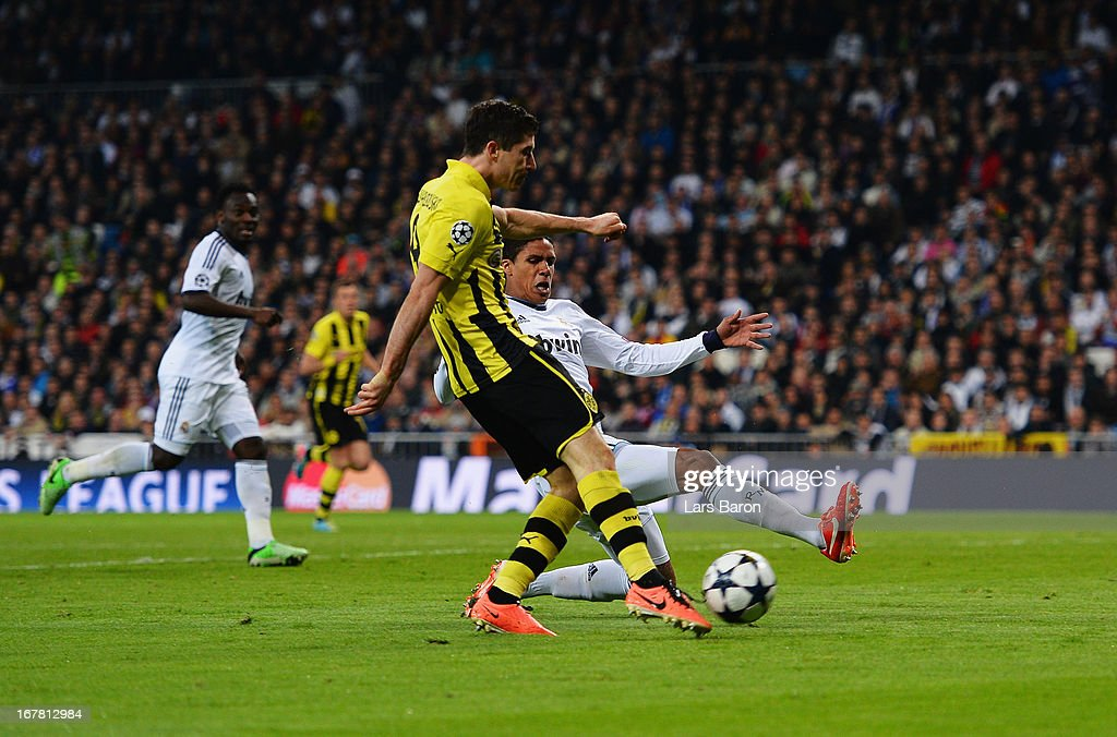 Real Madrid v Borussia Dortmund - UEFA Champions League Semi Final: Second Leg : News Photo
