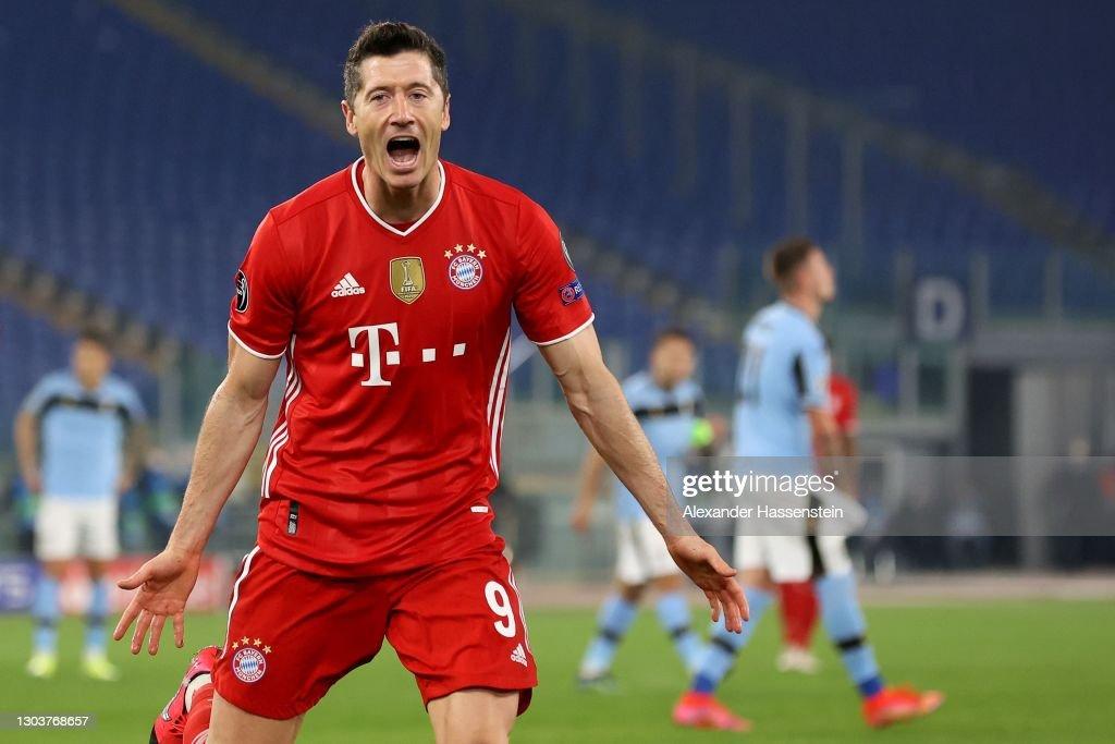 SS Lazio v Bayern Muenchen  - UEFA Champions League Round Of 16 Leg One : ニュース写真