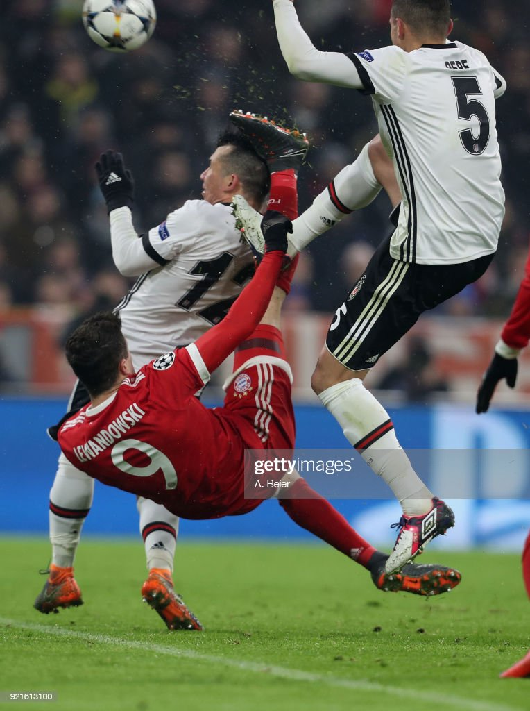 Bayern Muenchen v Besiktas - UEFA Champions League Round of 16: First Leg