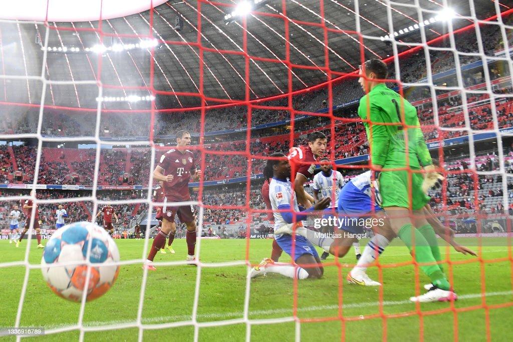 FC Bayern München v Hertha BSC - Bundesliga : Nachrichtenfoto