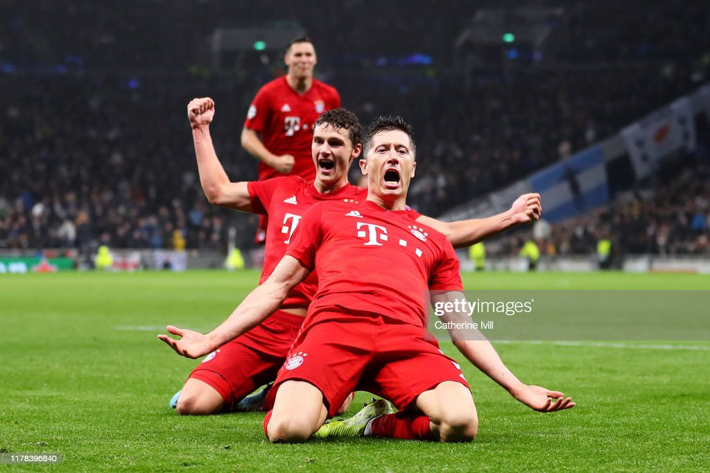 Tottenham Hotspur v Bayern Muenchen: Group B - UEFA Champions League : News Photo