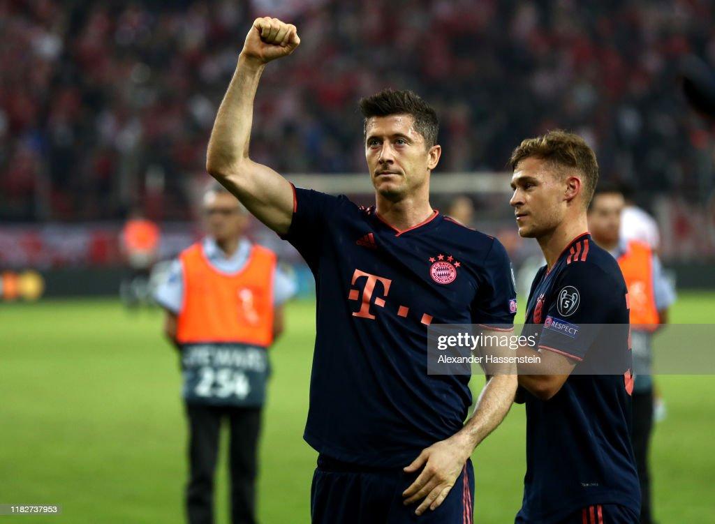 Olympiacos FC v Bayern Muenchen: Group B - UEFA Champions League : News Photo