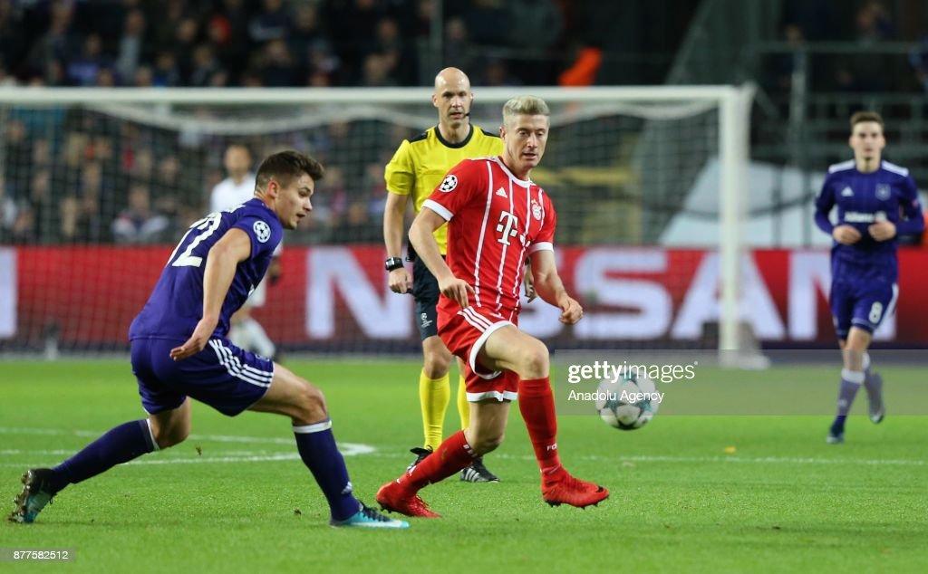 Anderlecht - FC Bayern Munich: UEFA Champions League : News Photo