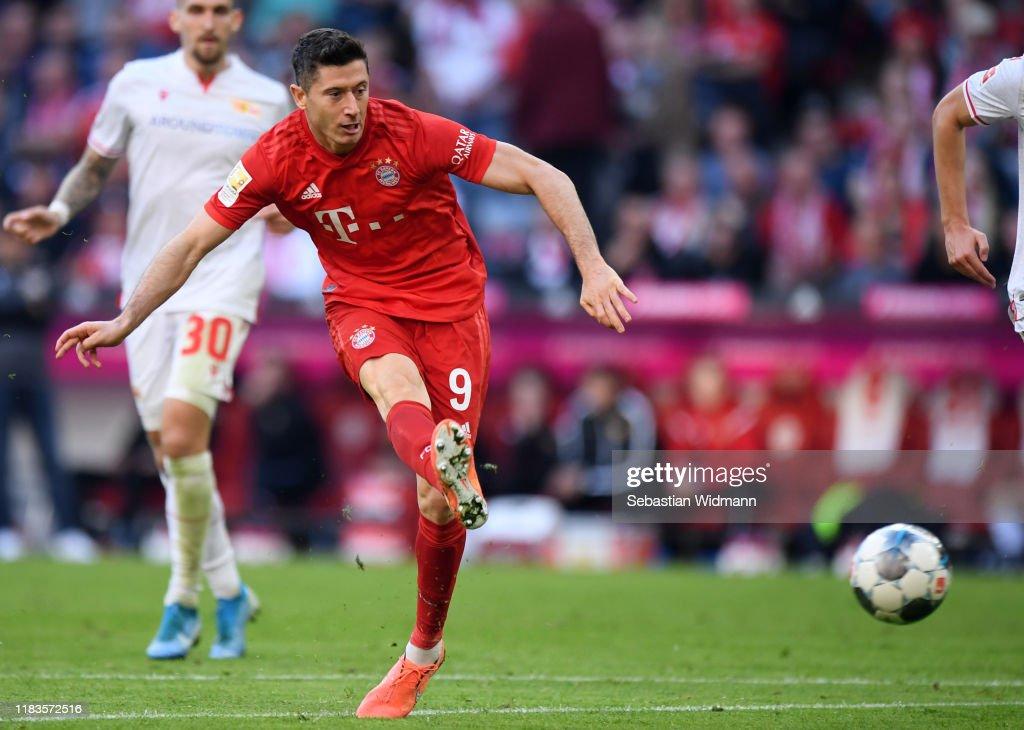 FC Bayern Muenchen v 1. FC Union Berlin - Bundesliga : Nieuwsfoto's