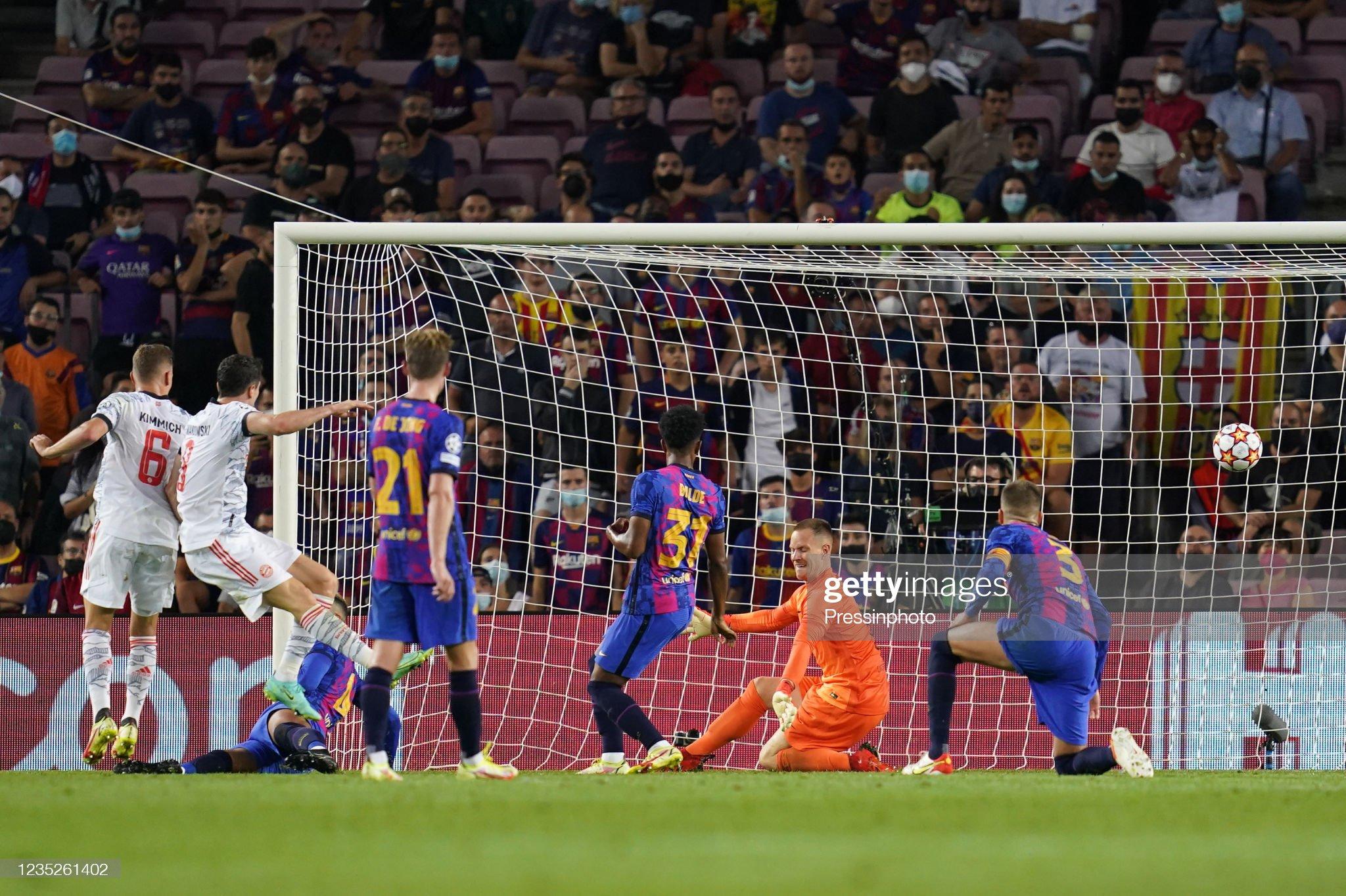 ESP: FC Barcelona-Bayern Munich. UEFA Champions League : News Photo