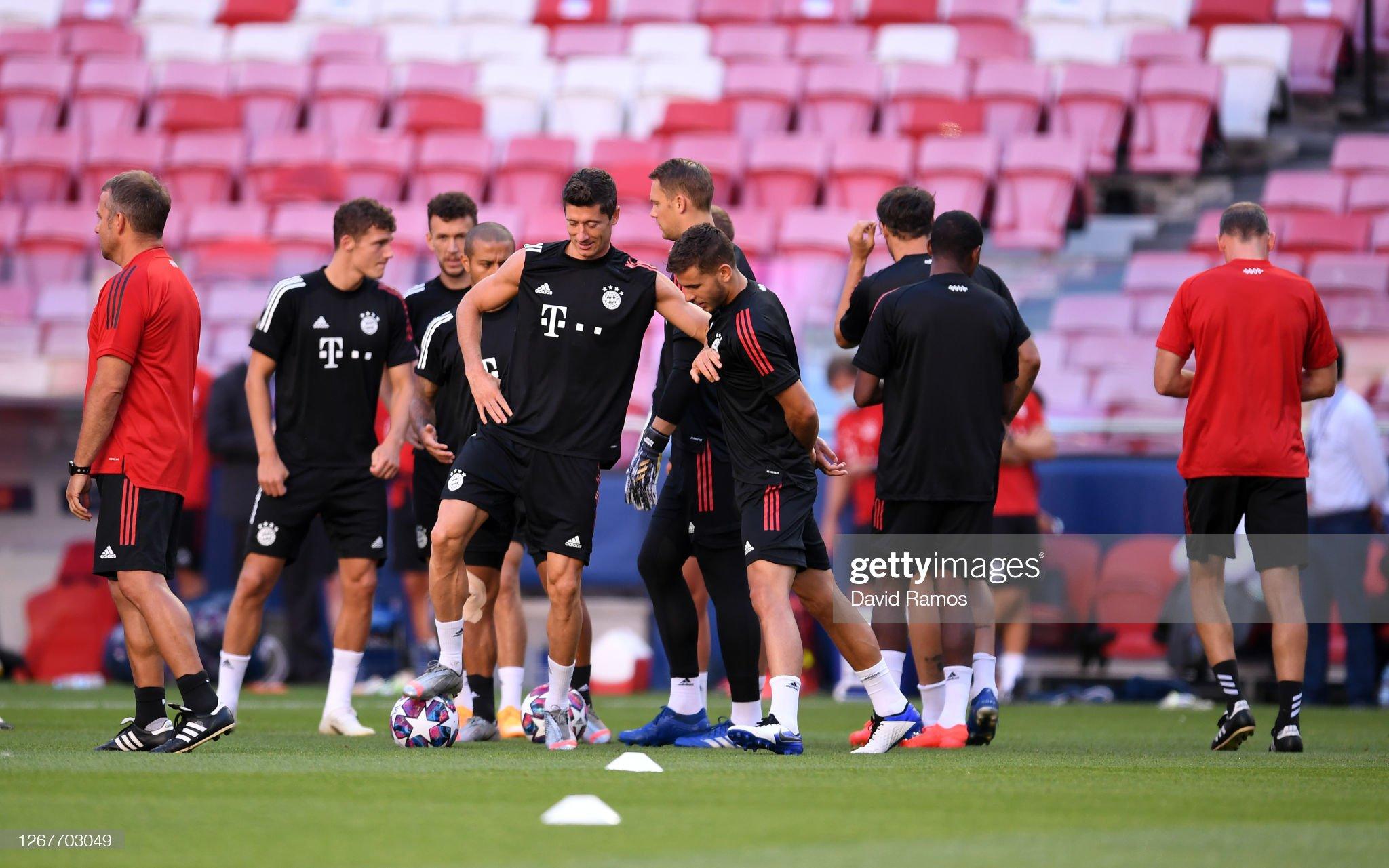 Bayern Munich Training Session - UEFA Champions League : News Photo
