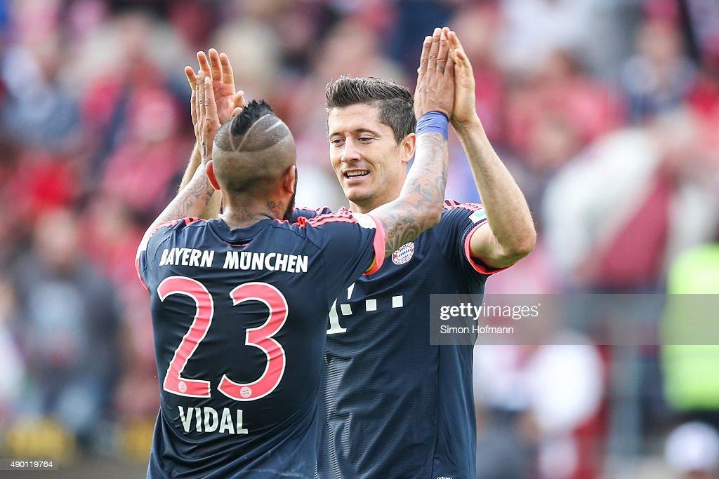 1. FSV Mainz 05 v FC Bayern Muenchen - Bundesliga : ニュース写真