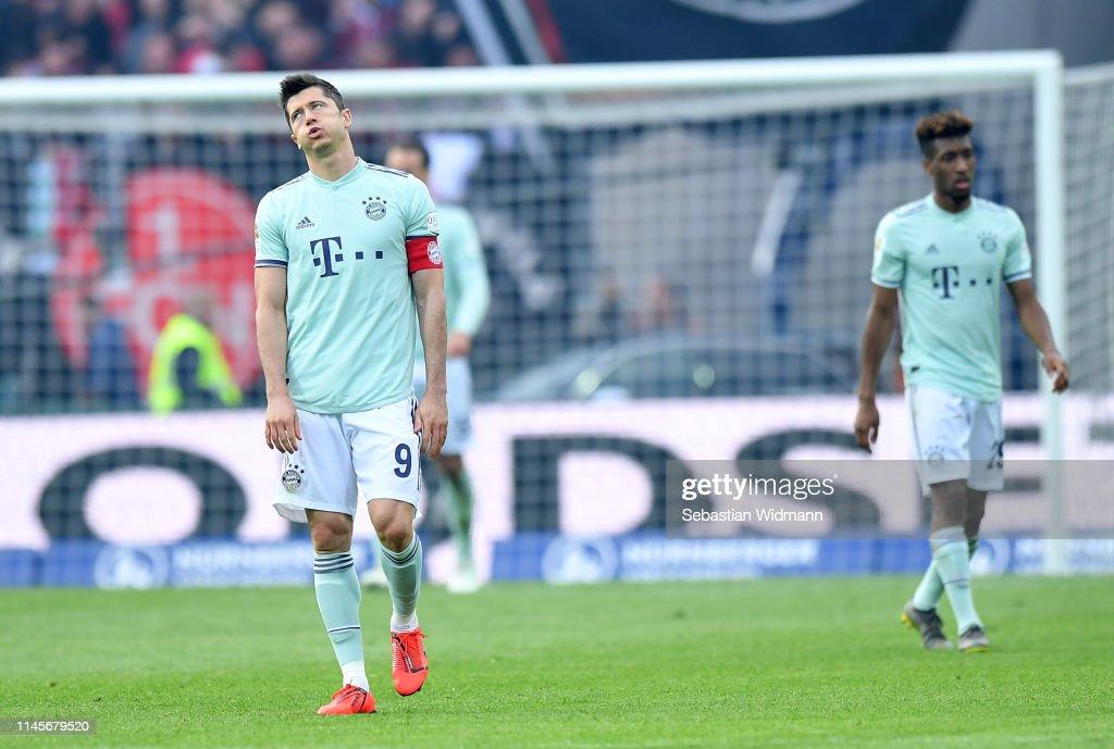 1. FC Nuernberg v FC Bayern Muenchen - Bundesliga : News Photo