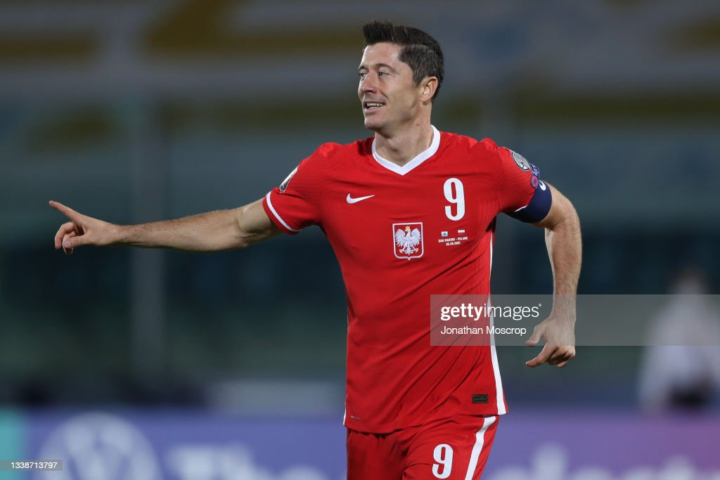 San Marino v Poland - 2022 FIFA World Cup Qualifier : News Photo