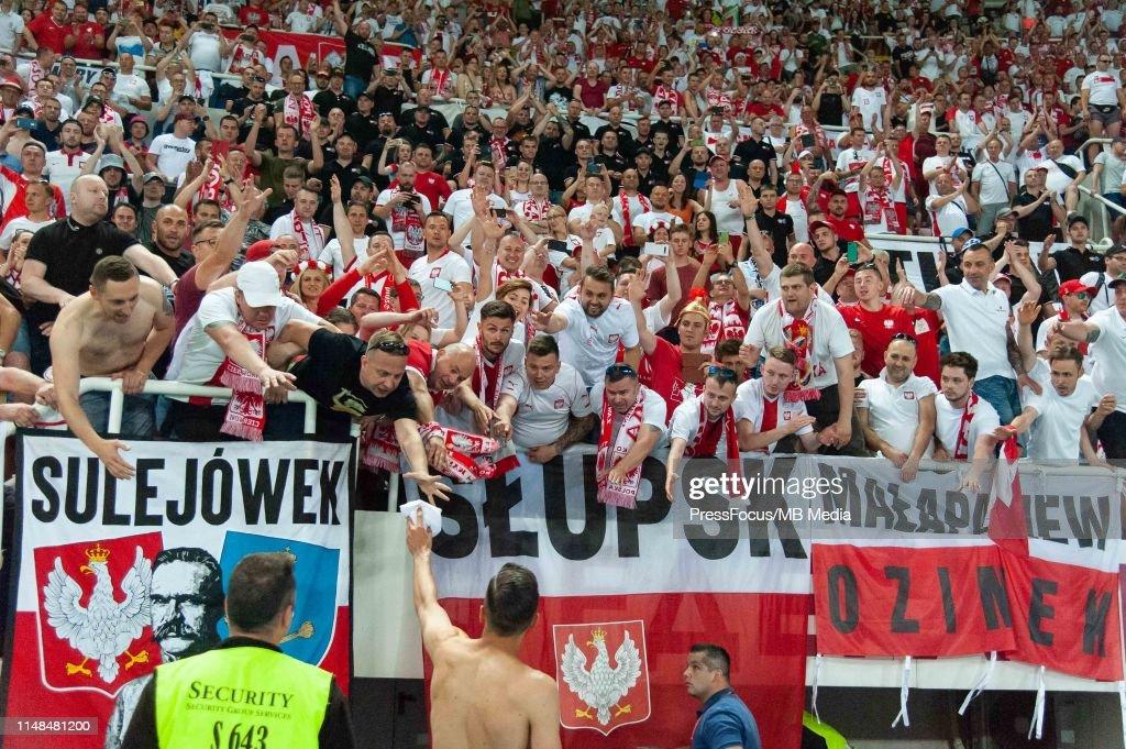 North Macedonia v Poland - UEFA Euro 2020 Qualifier : Foto jornalística