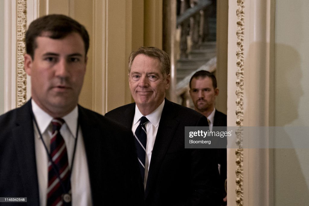 DC: Trade Representative Robert Lighthizer Attends Weekly GOP Conference Meeting